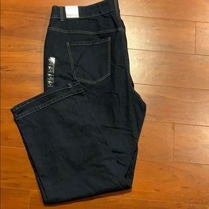 Lane Bryant Straight Leg Denim Jeans Size 26